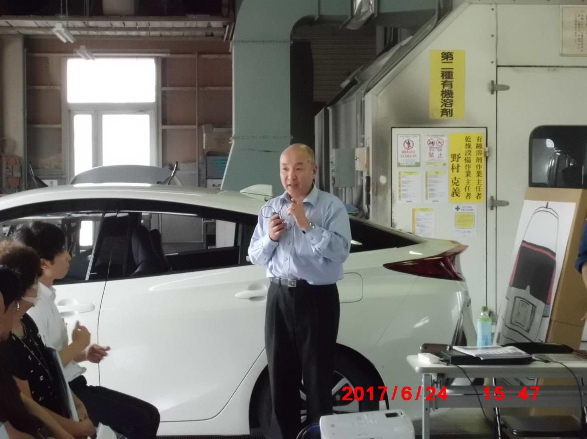 石川県代協を代表して、松岡専務理事よりご挨拶をいただきました。